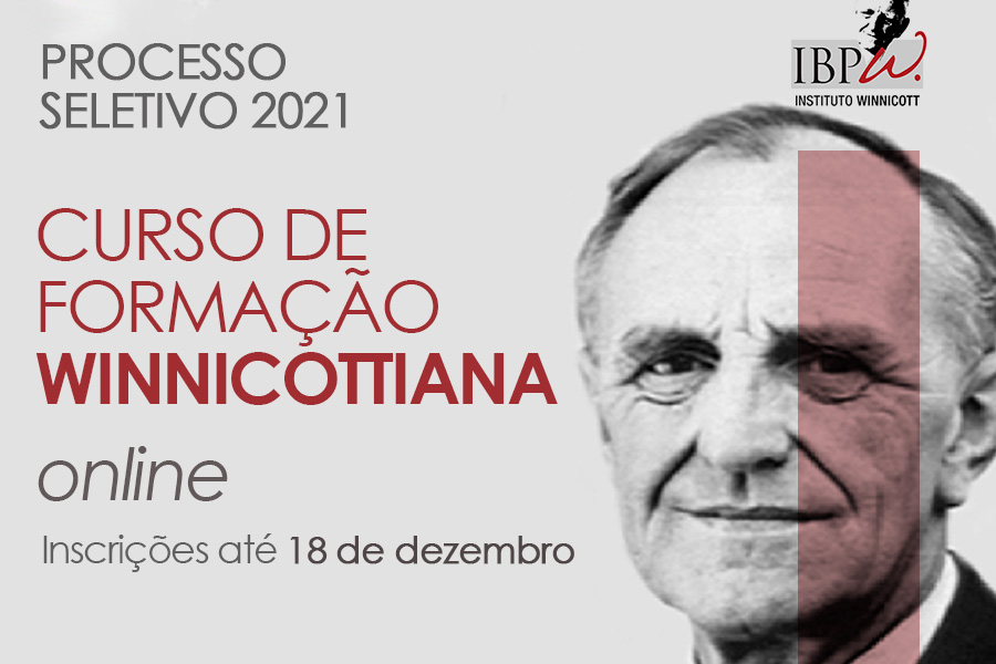 Curso de Formação Winnicottiana   Processo Seletivo 2021
